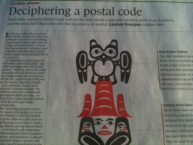 Headline: Deciphernig a postal code